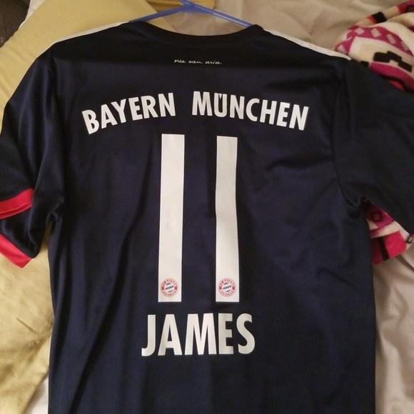 7be6865e8a0 adidas Other | Bayern Munich James Rodriguez 3rd Jersey L | Poshmark